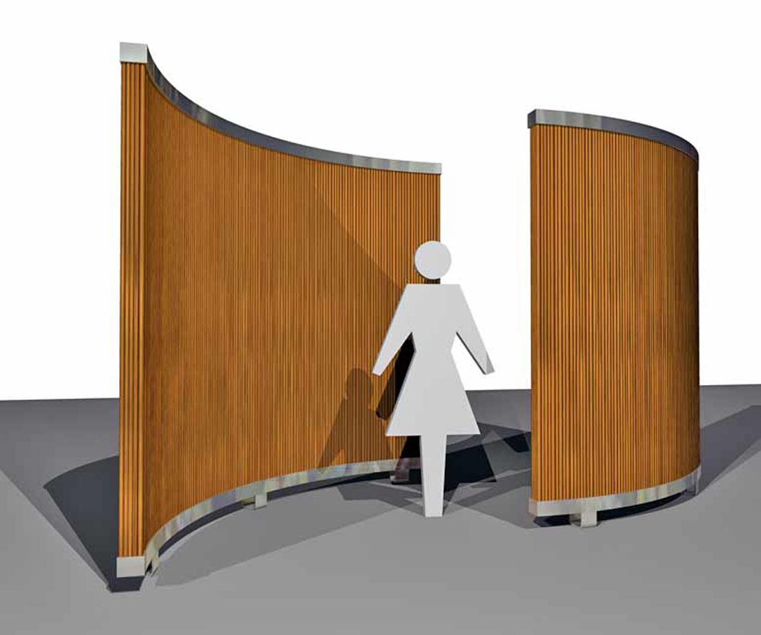 bamboe akoestische schermen, akoestische demping, akoestisch design