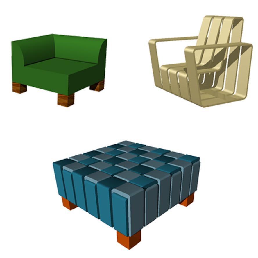 inspiratie, 3D schets