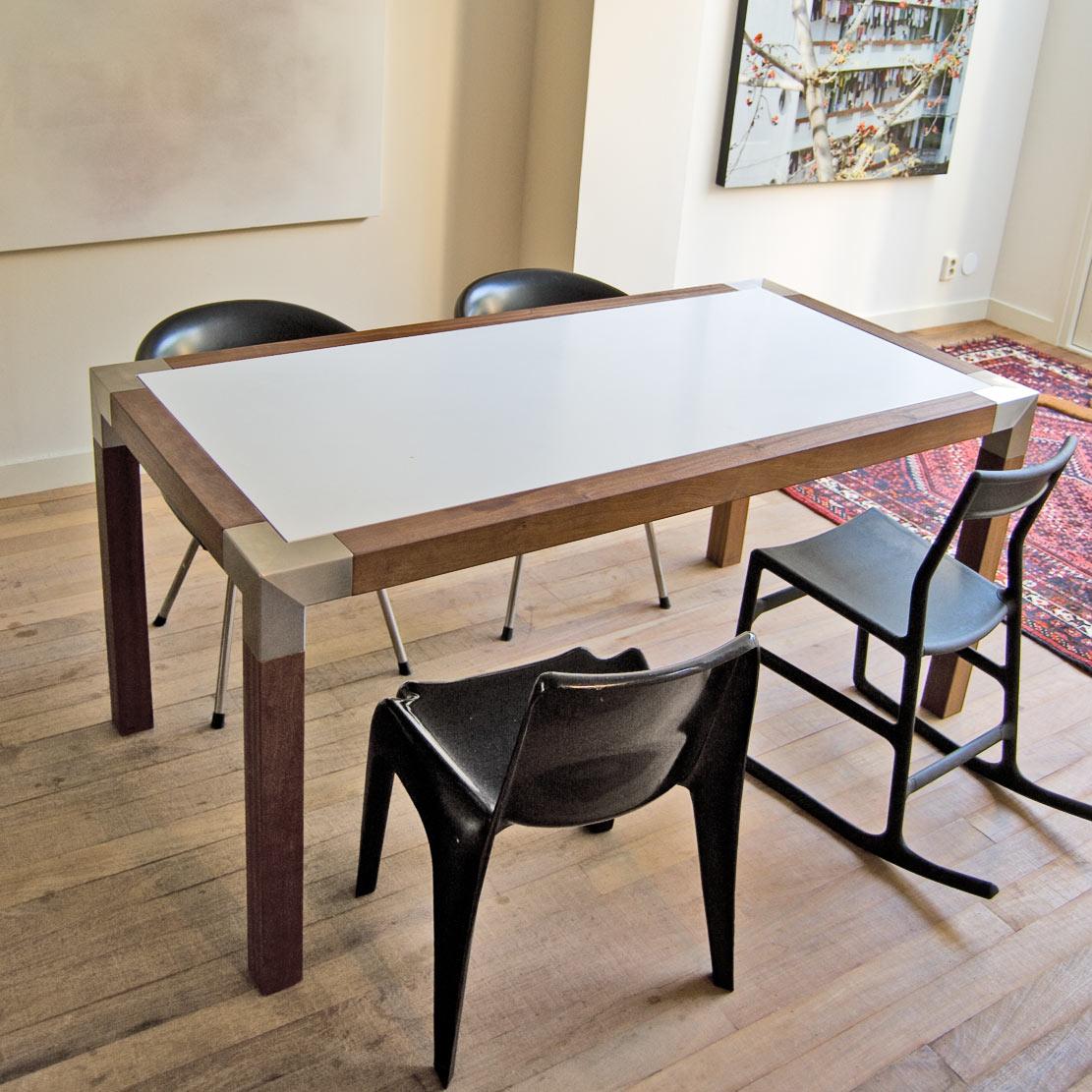 Unieke ontwerpen tafel op maat for Tafel op maat