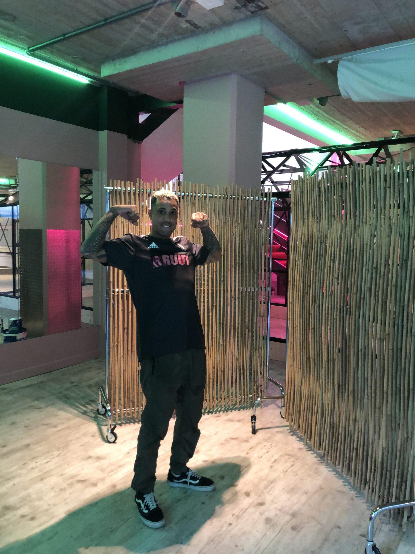 Bizzey screen bamboo